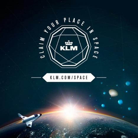 Influencia - Audace - Gagnez votre ticket pour l'espace avec KLM | Jean-Michel Roullé (Resp. Communication) | Scoop.it