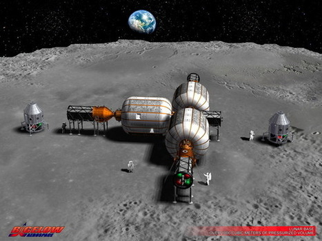 Inflatable Habitats: From the Space Station to the Moon and Mars? - Space.com | New Space | Scoop.it