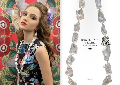 """Jewelry Spotlight - Bowerhaus -""""Botanical-Inspired Collection"""" - THE LOS ANGELES FASHION 