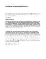 3-3-2014   Sheet Metal Components   Scoop.it