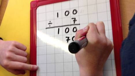 Chunking for Division - YouTube   Chunking in Mathematics   Scoop.it