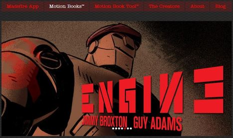 Motion Books | Graphic Novels & Comic Makers | Scoop.it