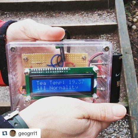 Ruben Heynderycx on Instagram: &ldquo;@geogrrl1 &#12539;&#12539;&#12539;<br/>First arduino!<br/>#geocache #geocaching #arduino #vancouver #geocachingisawesome #electricgeocache&rdquo;   Raspberry Pi   Scoop.it