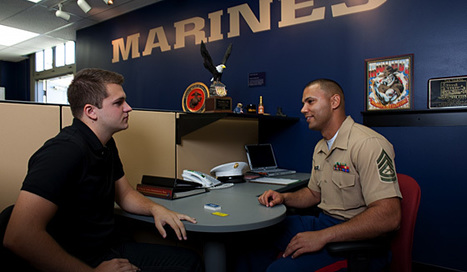 Marine Recruiter | Marine Corps Research Project | Scoop.it