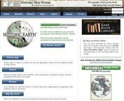 3 ressources en ligne pour trouver des cartes anciennes | Education & Numérique | Scoop.it