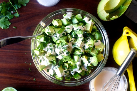 obsessively good avocado cucumber salad | smitten kitchen | Food for Foodies | Scoop.it