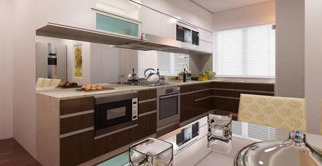 Tủ bếp hiện đại.Thiết kế tủ bếp hiện đại sang trọng | Tổng hợp | Scoop.it