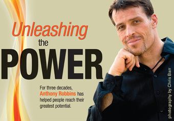 """Tony Robbins discusses the """"invisible forces"""" that make us do what we do 