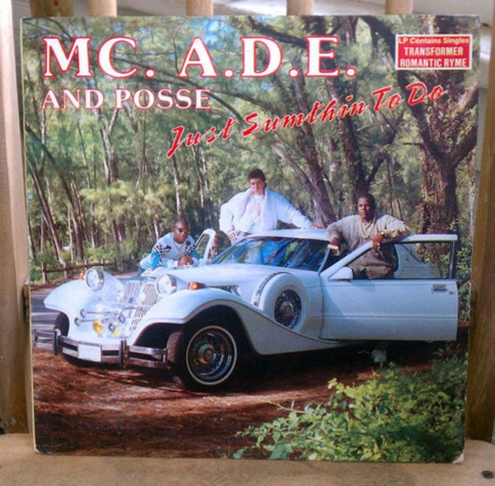 Rare MC. A.D.E. and Posse Just Sumthin' To Do LP Early Miami Bass Rap Hip Hop 1980s Vintage Vinyl | Antiques & Vintage Collectibles | Scoop.it