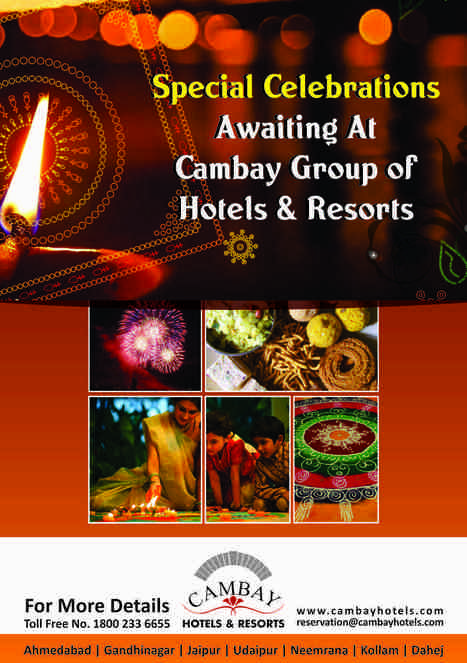 Special Celebrations Awaiting At #Cambay Group of #Hotels & #Resorts. | Cambay Hotels & Resorts | Scoop.it