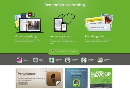 Using Evernote For Content Curation | François MAGNAN  Formateur Consultant | Scoop.it