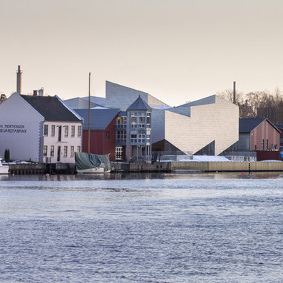COBE and Transform complete the zigzagging Porsgrunn Maritime Museum | Art Daily | Scoop.it