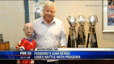 Teen dies day before serving as honorary captain for New England Patriots | Interesting Places | Scoop.it