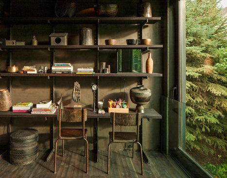Une maison intégrée à la nature | | PLANETE DECO a homes worldPLANETE DECO a homes world | Aménagement et décoration | Scoop.it