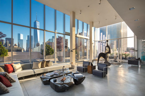 Carmelo Anthony Checks Out $48M Sky Lofts Penthouse - Curbed NY | Kenyon Clarke 's Luxury Likes | Scoop.it