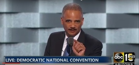"Eric Holder Yells At Trump: ""Already! Great! Nation!"" Under Obama, ""Donald, Did You Hear Me?!"" 