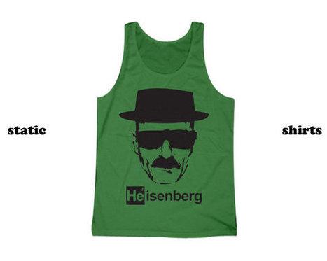 Heisenberg Tank Top | Breaking Bad Tanktop | New T-Shirt | Scoop.it