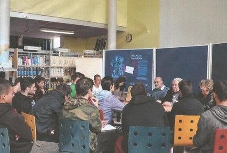 Des lycéens à la rencontre d'un résistant   Lycée des métiers Philippe Tissié à Saverdun (Ariège)   Scoop.it