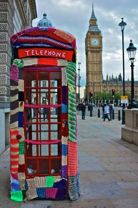 Amazing Street Art: Knitting | Visual Inspiration | Scoop.it