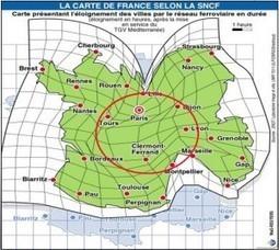 La nouvelle lecture de la France à partir du Réseau TGV | | - France Implantation- France Implantation | Transitions | Scoop.it