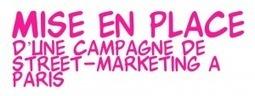 Mise en place d'une campagne de street-marketing à Paris ... | Adverbia - Com' corporate & publicité | Scoop.it