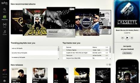 Un pequeño truco para acceder ya a la versión web de Spotify | Recull diari | Scoop.it