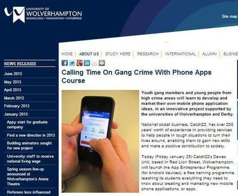 App Development And Marketing For Youth Gang Members – Catch22 & App Entrepreneur Programme | Targeting Social Determinants  of Health (social gradient, stress, early life, social exclusion, work, unemployment, social support, addiction, food, transport) | Scoop.it