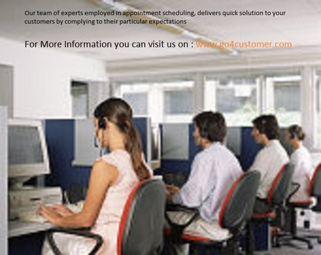 Online Appointment Scheduling for Clients - Go4customer | Business Telecommunication Services | Scoop.it
