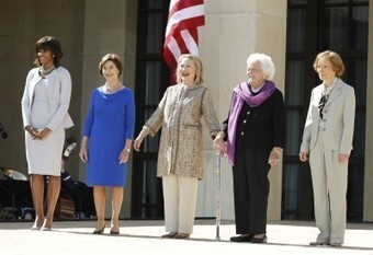 When first ladies meet: An awkward post-election White House tradition | enjoy yourself | Scoop.it