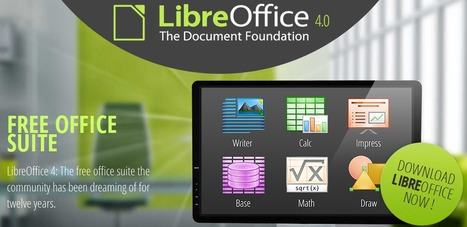 LibreOffice 4 - free open source office suite | Aprendiendo a Distancia | Scoop.it