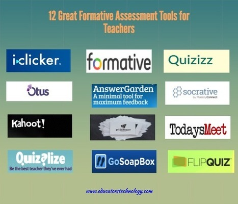 12 Great Formative Assessment Tools for Teachers ~ Educational Technology and Mobile Learning - Technology Vibe | ICT Nieuws | Into the Driver's Seat | Scoop.it