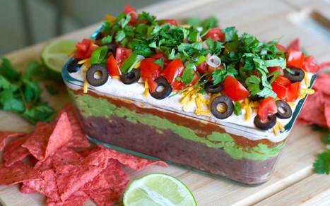 7-Layer Dip [Vegan] | Vegan Food | Scoop.it