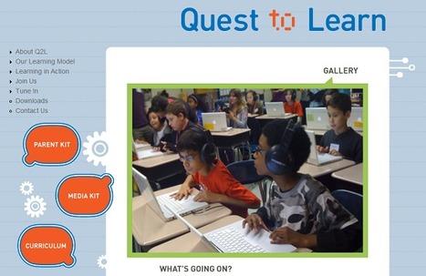 Quest to learn : l'école où l'on joue à apprendre « InternetActu.net | Open P2P ReadWrite Museums • Free Culture • Co Creation | Scoop.it