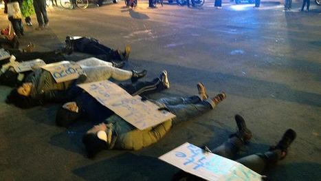 #BlackLivesMatter protest shuts down Broad St. | Media with Meaning | Scoop.it