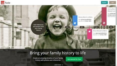 Twile convertit votre Gedcom en frise chronologique - GeneaTech | Généalogie | Scoop.it