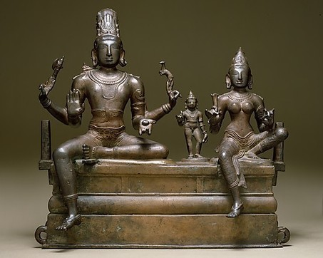 The Metropolitan Museum of Art - Shiva, Uma, and Their Son Skanda (Somaskandamurti) | La India Exótica | Scoop.it