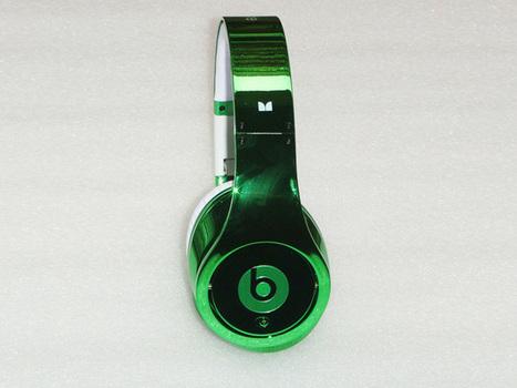 Eye-catching Monster Beats By Dre Studio Electroplating Headphones Green_hellobeatsdreseller.com | Beats By Dre Electroplating | Scoop.it