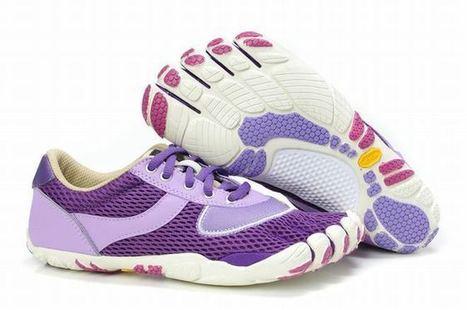 Vibram Five Fingers Speed White/Purple Women's | fashion list | Scoop.it