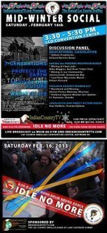 Mid-Winter Social Dance - #idlenomore | Round Dance Social | IDLE NO MORE WISCONSIN | Scoop.it