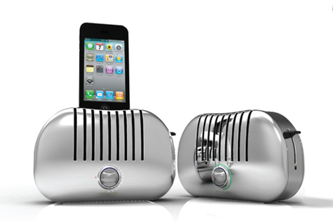 Retro toaster dock is hot for your iPhone | Technology and Gadgets | Scoop.it