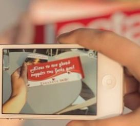 Lacta Chocolate: Augmented Reality Messages | augmented reality examples | Scoop.it
