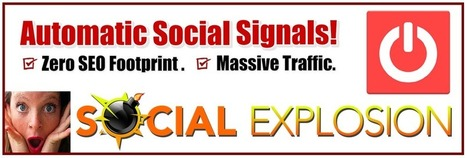 New Social Explosion RSS Promotion Control Panel Coming! | Network Empire | Content Curation Myths | Scoop.it