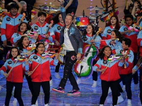 How Coldplay's halftime show just changed the fate of music education | FMF | Scoop.it