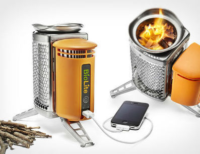 Camp Stove Cooks with Wood & Powers Gadgets | Gadgetry | Scoop.it