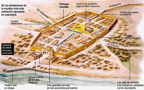 Barcino, puerto natural - Revista de Historia | Romanización en España e Galicia | Scoop.it