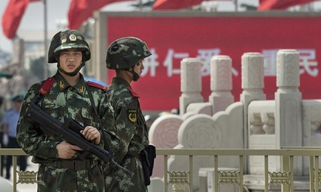Tiananmen anniversary: Chinese police patrol square to stop commemorations | Politics economics and society | Scoop.it