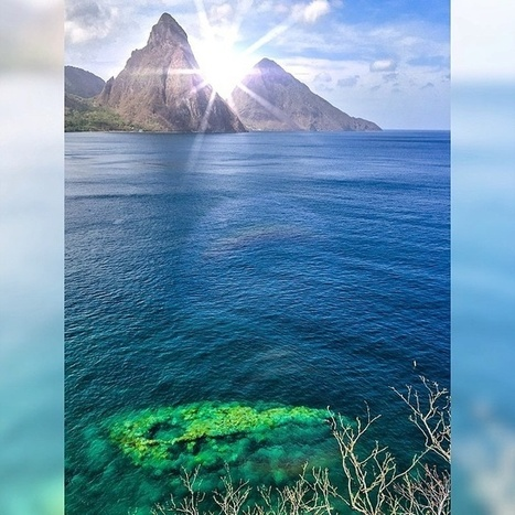 Good Morning Pitons! | Saint Lucia Tourism | Scoop.it