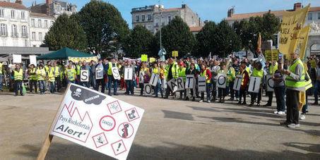 Un millier de manifestants contre un projet d'incinérateur à Rochefort | NPA - déchets et recyclage | Scoop.it