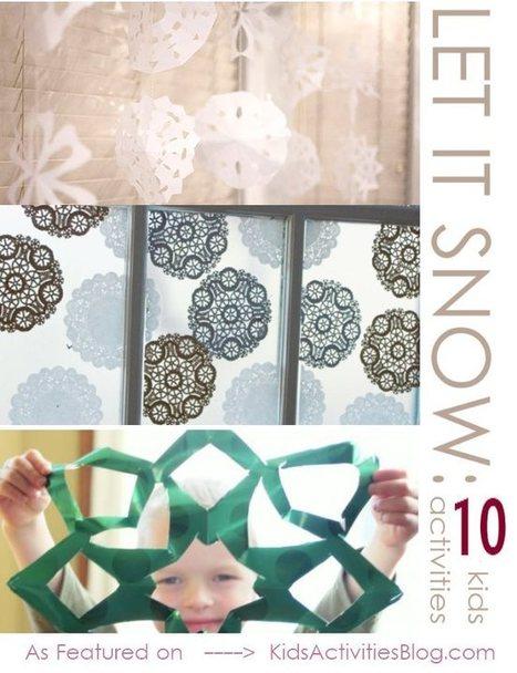 Snow Flakes Snow Flakes | Eveil ludique | Scoop.it
