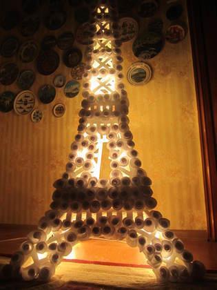 [Coup de ♥] Fabrication d'une lampe en forme de Tour Eiffel par Vladimir67 sur le #CDB | Best of coin des bricoleurs | Scoop.it